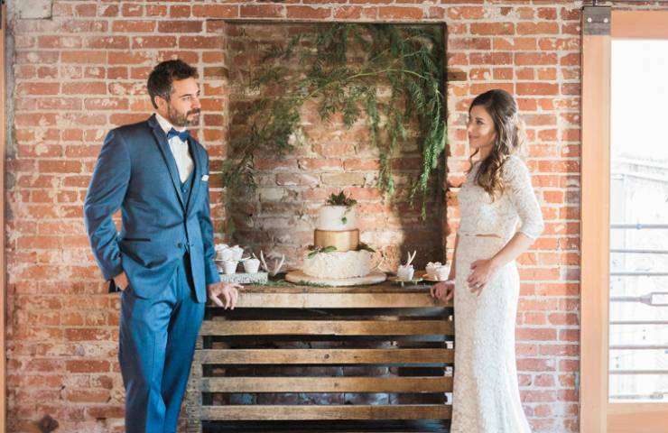 Elegant & Industrial Styled Shoot featured image