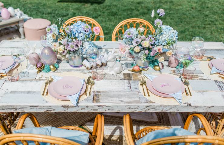 Magical Watercolor Easter Brunch Featured on Inspired By This featured image