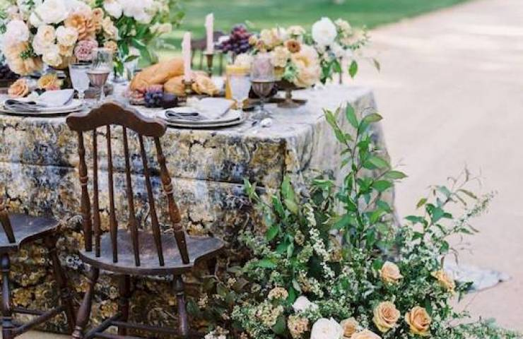 Jennifer Fujikawa, Kestrel Park, Perfect The Event, Designer Mulberry and Moss, Trumpet and Horn, Piece Lindsay Marie Design, La Tavola, Sweet Salvage Rentals, Cherished Rentals, Pirouette Paper, Beauty Creator, Tono & Co, Brand Talent Agency, Gown Claire Pettibone, Grace and Honey Cakes