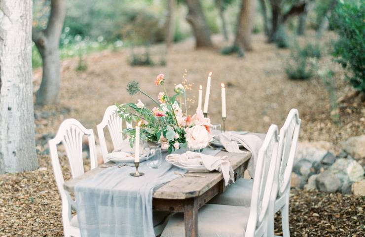 vista valley country club, tablescape, european inspired